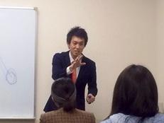 川阪正樹2 講義風景